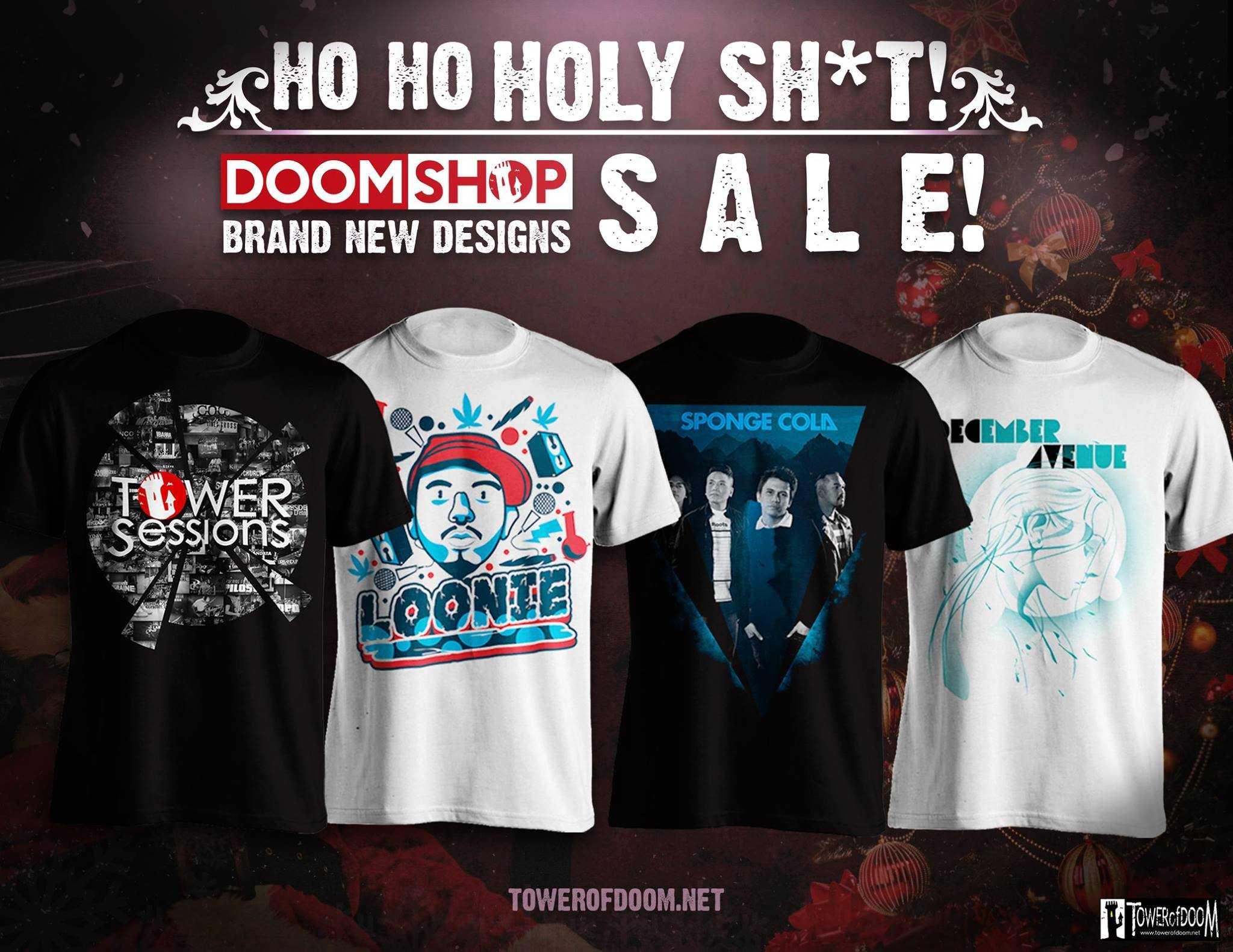 DoomShop Xmas Shirt Sale 2015