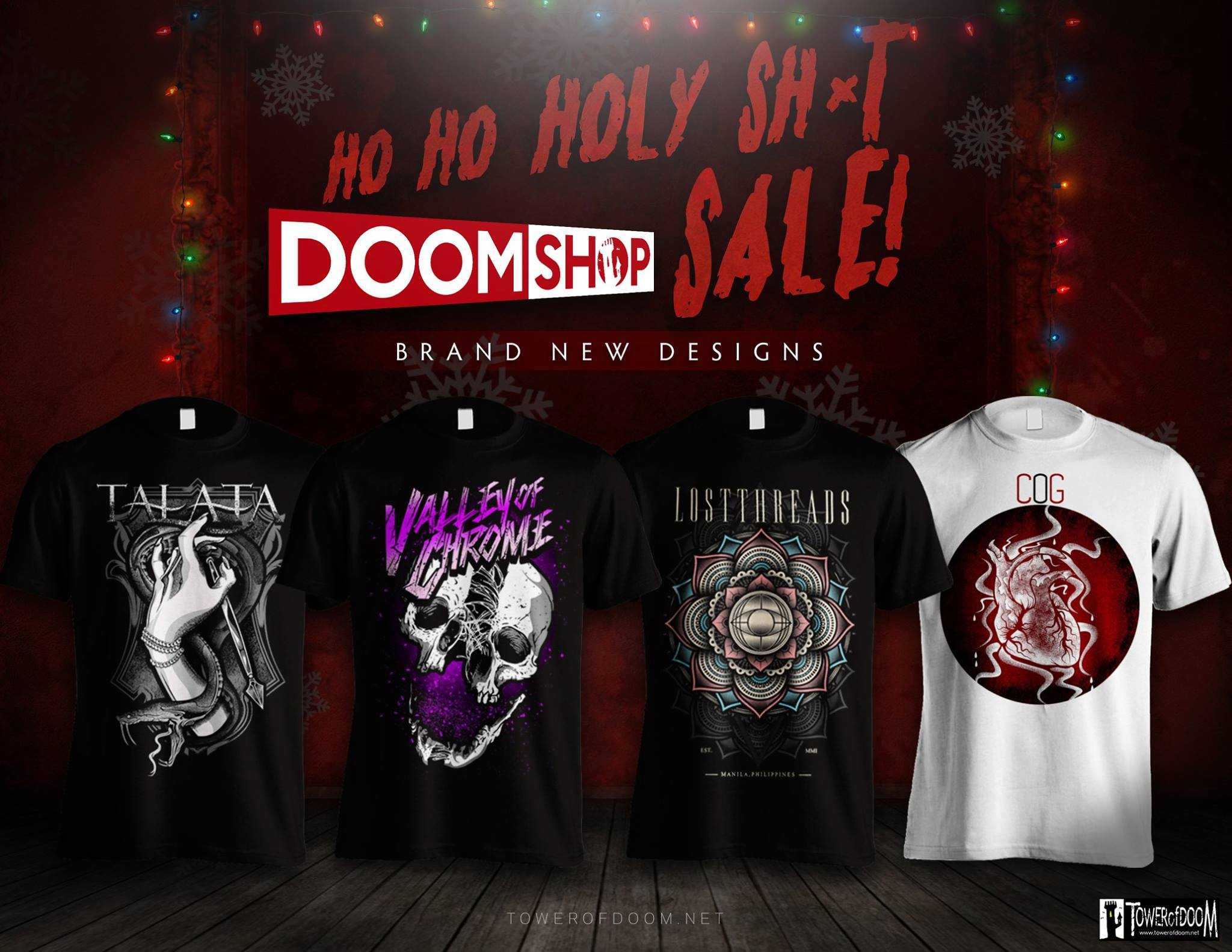 TOD Xmas Shirt Sale 2015